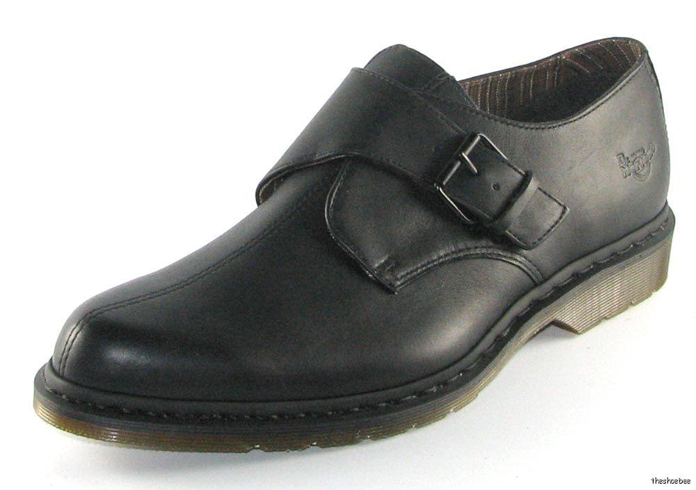 new dr martens orde black dress monk shoes uk 7 us 8 ebay