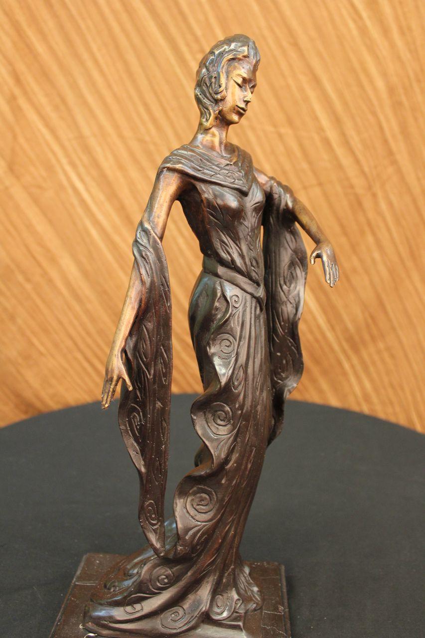 Clearance bronze sculpture statue 19 tall high fashion - Mobeldesigner italien ...
