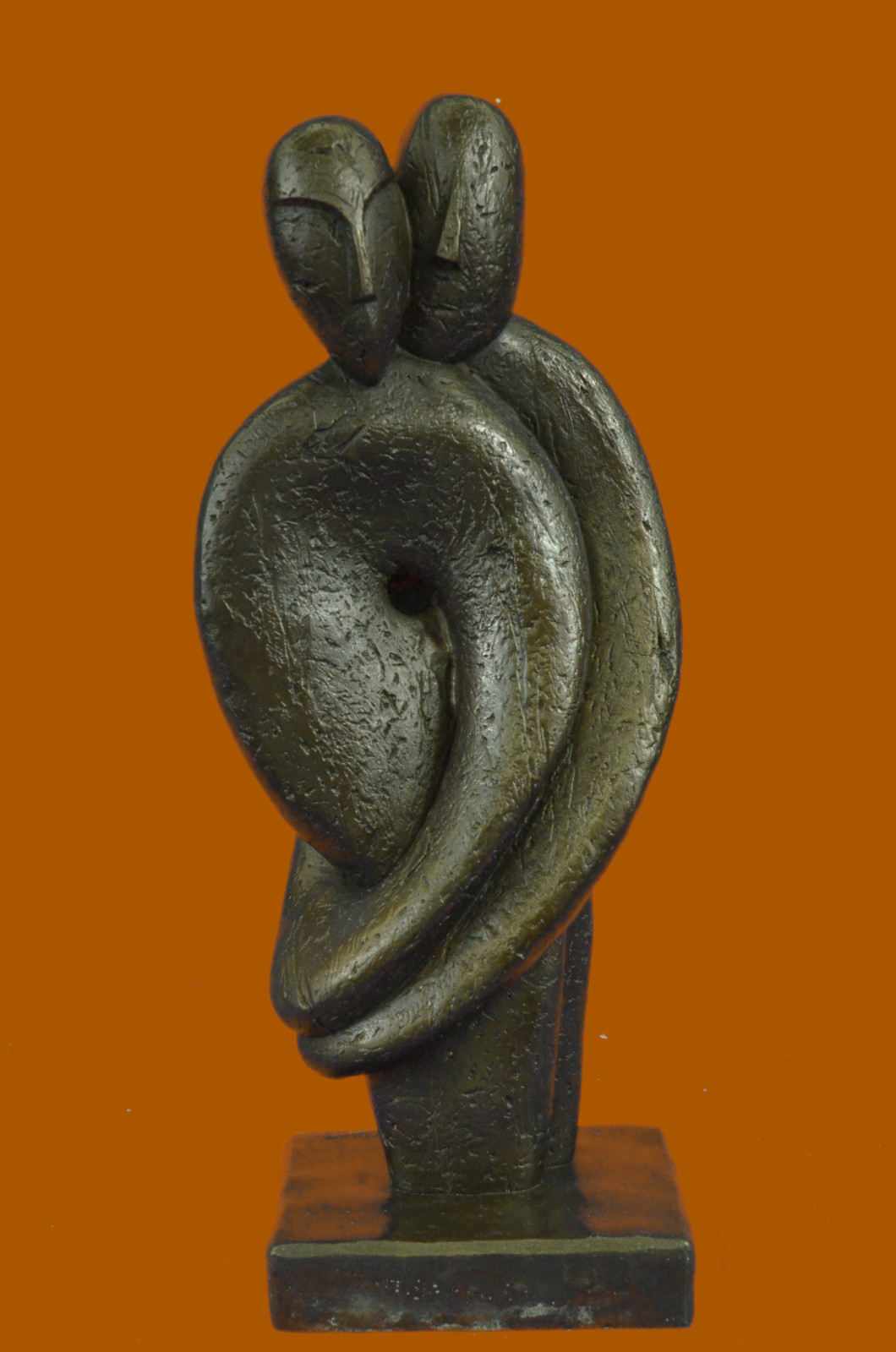 deal deal bronze sculpture statue abstract modern higgins d