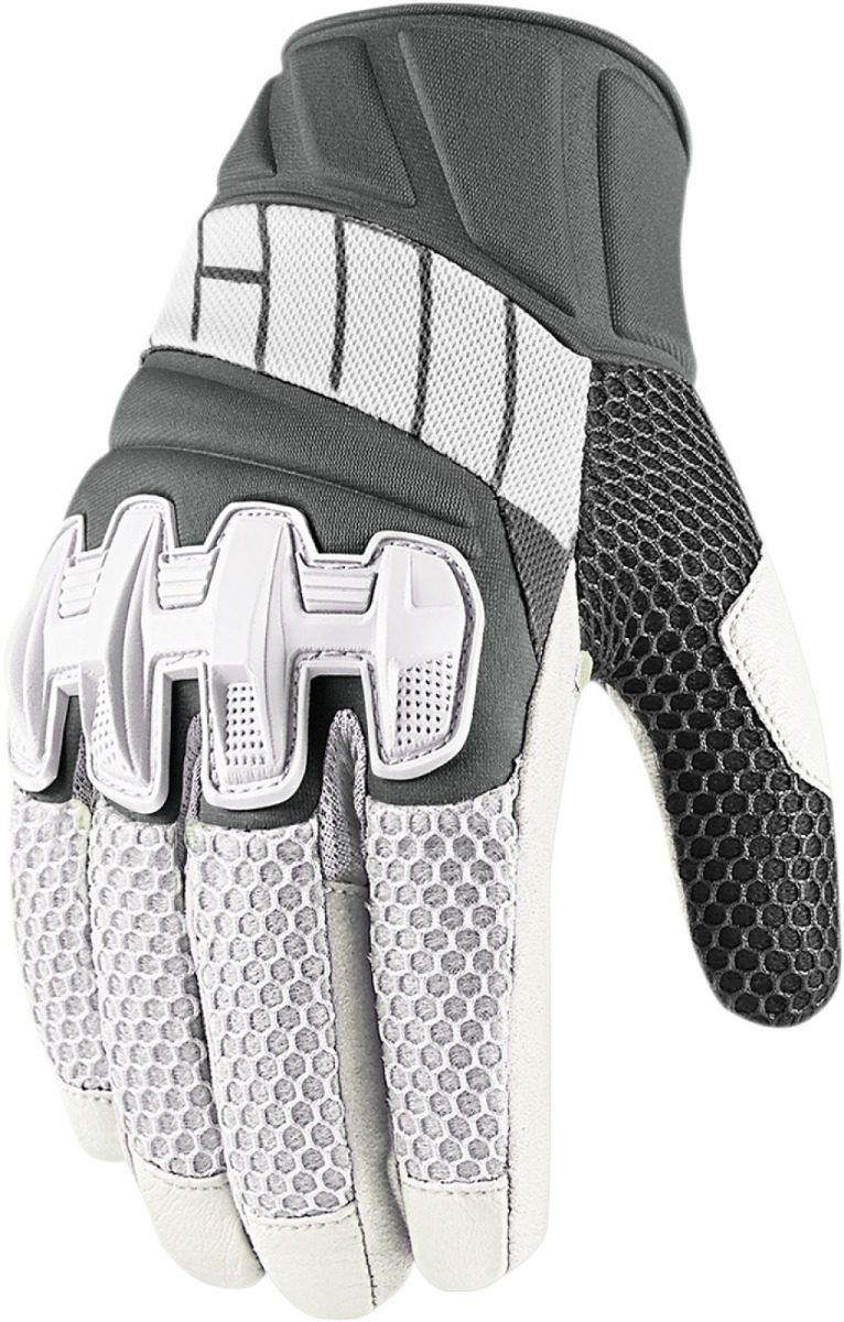Motorcycle gloves mesh - Fast Shipping Icon Mens Overlord 2 Mesh Motorcycle