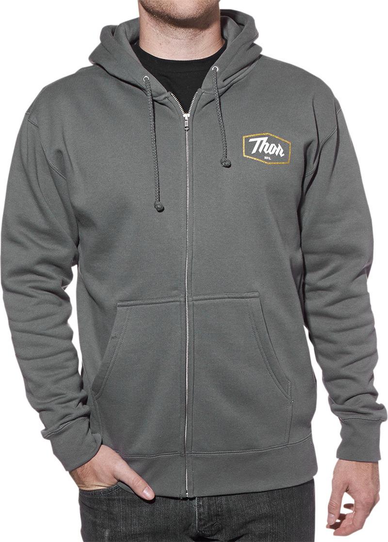 Fast Shipping Thor Mens Script Zip Up Sportswear Hoodies | eBay