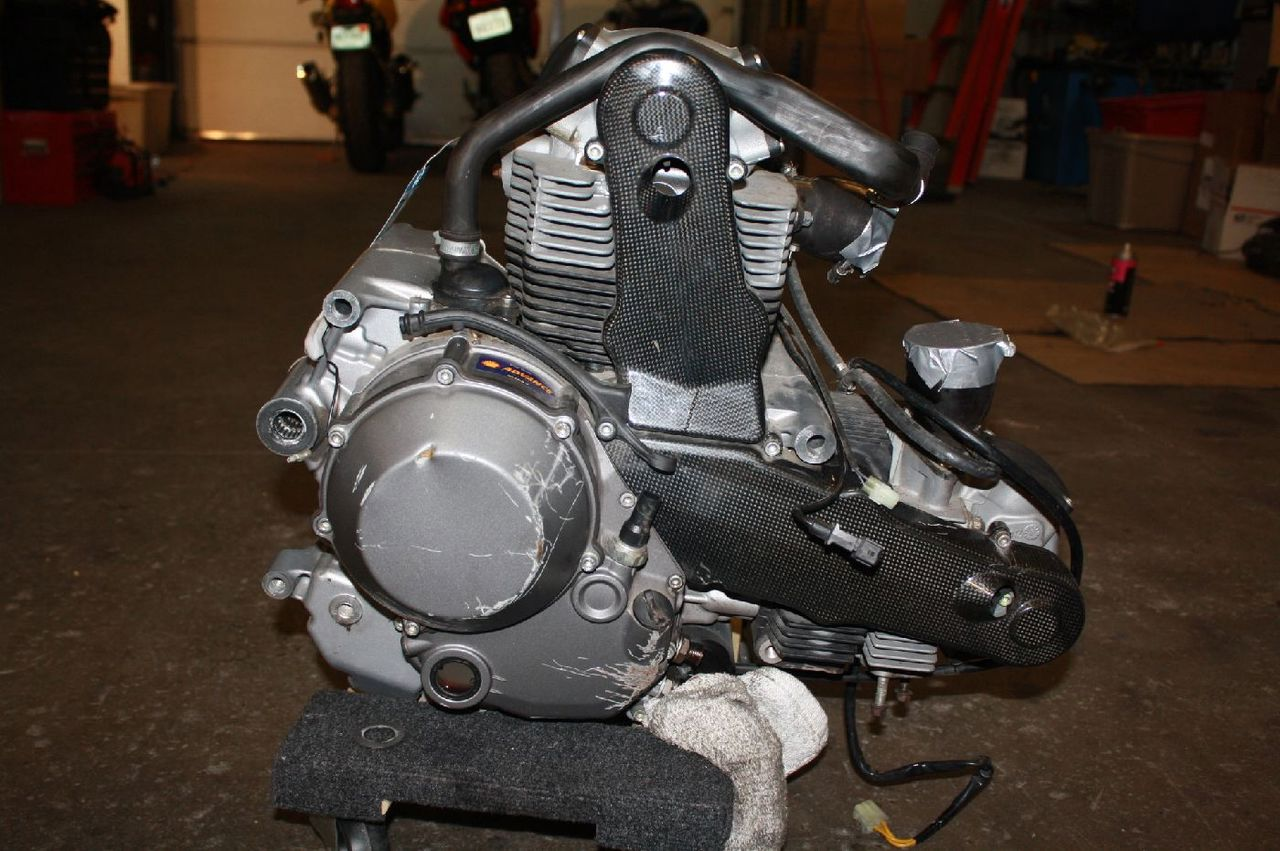 Ducati Monster Engine Swap