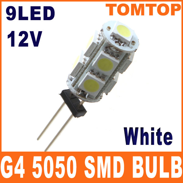 G4-White-5050-SMD-9-LED-Light-Home-Car-RV-Marine-Boat-Lamp-Bulb-DC-12V