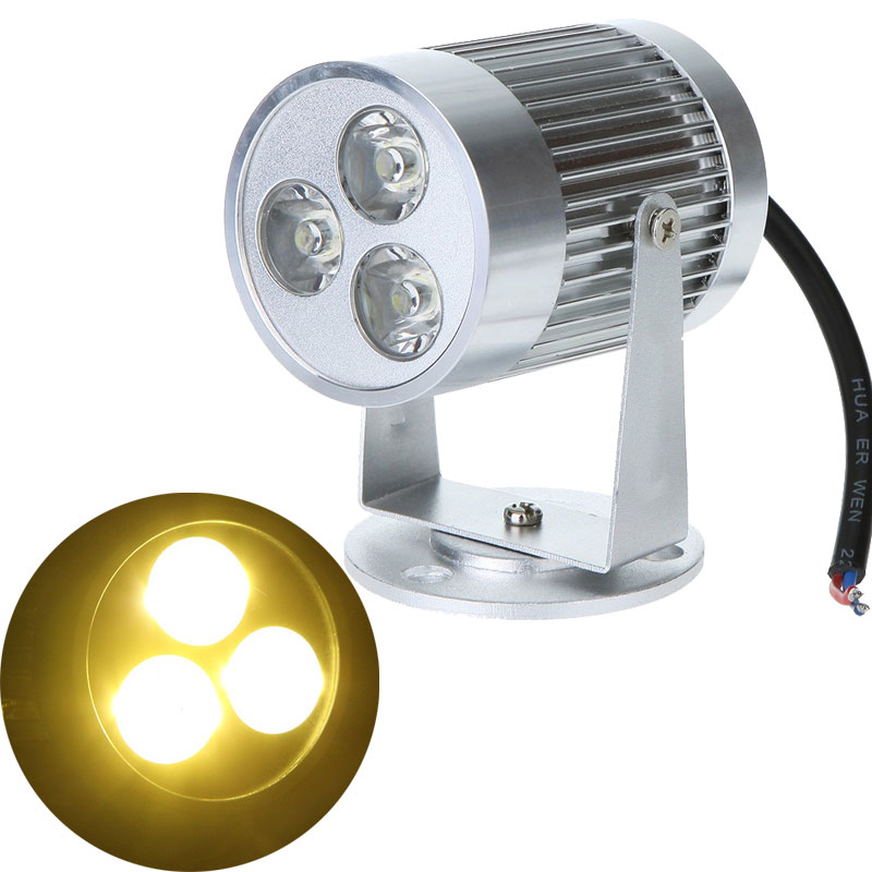 9W Underwater LED Landscape Pond Lamp Bulb / 3W LED Wall Lamp Jewelry Lighting
