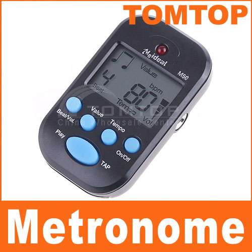 New-LCD-Digital-Beat-Tempo-Mini-Metronome-Black
