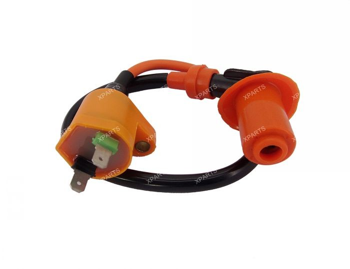 Details about New Performance CDI Box Ignition Coil Kit for GY6 ...