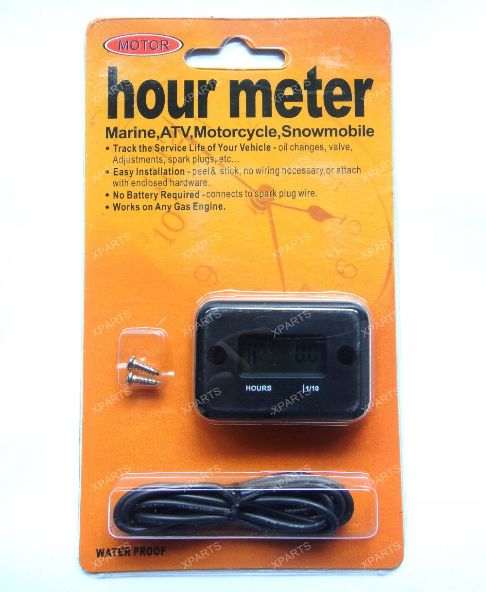 Electric Motor Hour Meters : Hour meter for yz f crf kx rmz engine motor
