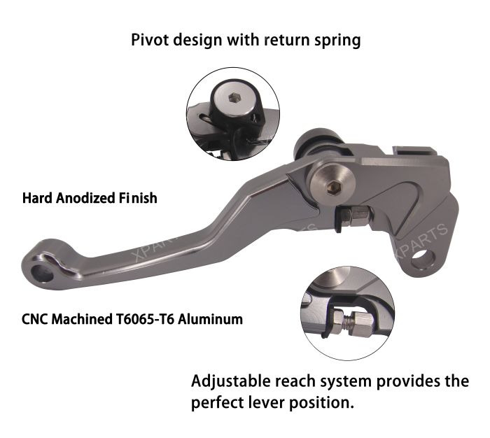 Lever Pivot Bracket : Pivot brake clutch levers for ktm sx f xc xcf w exc