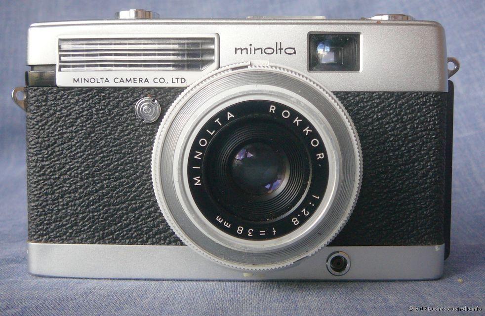 Minoltina-P-Rare-Vintage-Camera-by-Minolta-Ca-1963-Top
