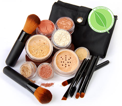 17-pc-Full-Size-Loose-Minerals-Makeup-Cosmetics-Kit-Bare-Kabuki-Vegan-Brush-Set