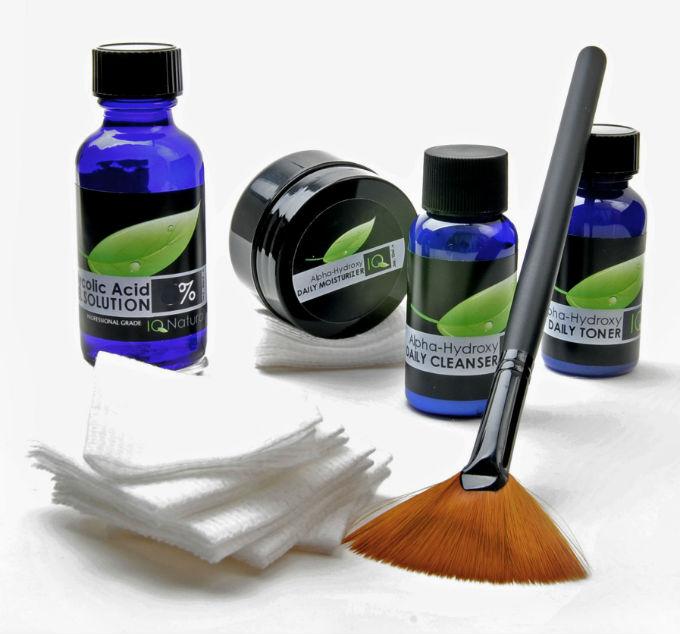 GLYCOLIC-ACID-Peel-Kit-Heal-Acne-Scars-Wrinkles-AHA-Age