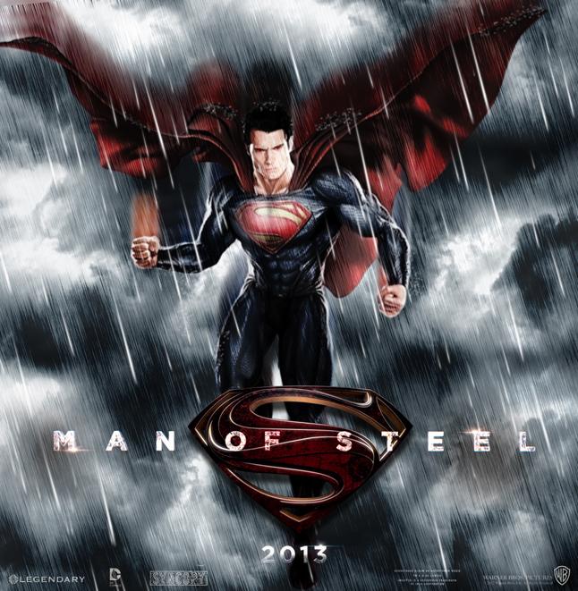 Man of steel dvd artwork