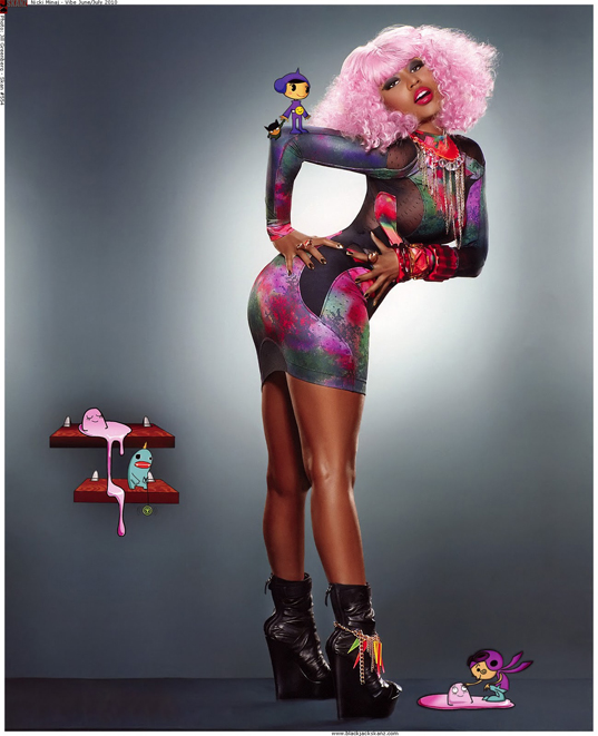 Nicki Minaj Feet Size http://www.ebay.co.uk/itm/Nicki-Minaj-Hiphop-Music-Stars-Wall-Silk-Poster-30x24-/120843231836