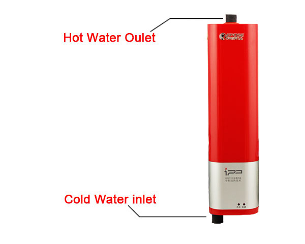 Portable Instant Hot Water : Portable electric hot water heater system for tap