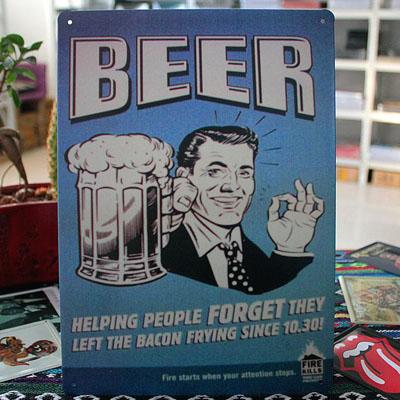 Vintage-Tin-Metal-Pub-Bar-Sign-Decor-034-Cheers-034-DT93