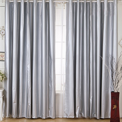 100 blockout coated panel curtain block light black out eyelet curtain lc922