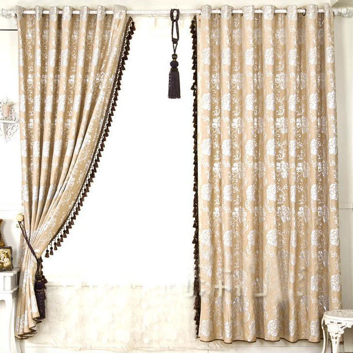 1M Bead Tassel Brush Fringe Trim Decor Drapery Curtain