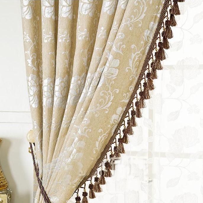 Tassel trim for curtains
