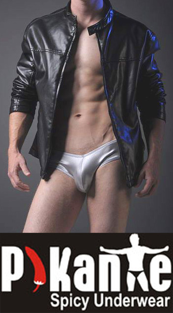 MEN'S LATEX SWIMWEAR
