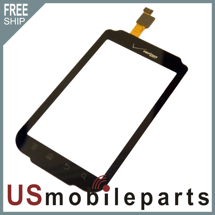 Original Verizon Casio GzOne Commando C771 Front Panel Touch Digitizer