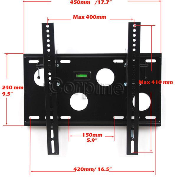 Tilt Plasma LCD LED TV Ceiling Wall Mount 23 24 26 32 37 40 42 46 47 50 52 55M92