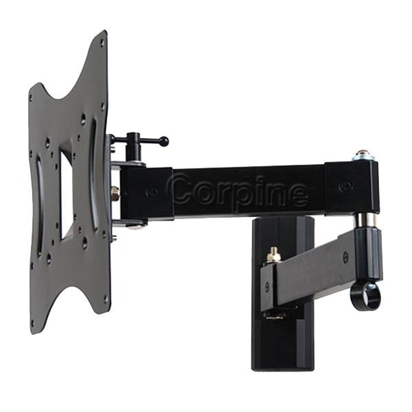 Swivel Tilt Articulating Arm LCD LED Monitor TV Wall Mount 22 24 26 27