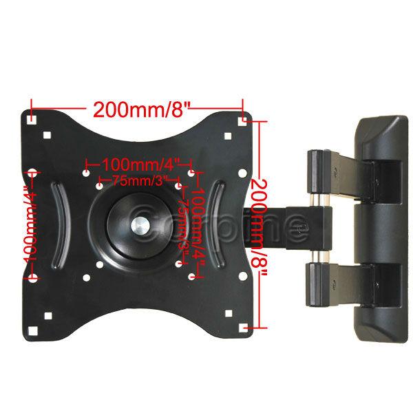 Articulating Swivel Tilt Wall Mount LCD LED Plasma TV 22 24 26 27 32