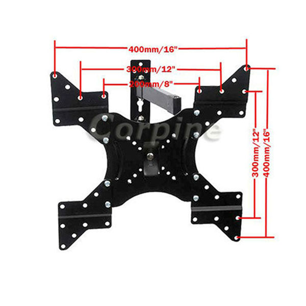 Swivel Tilt LCD LED Plasma TV Wall Mount 22 23 24 26 27 32 37 40 42 43 46 47 1yd