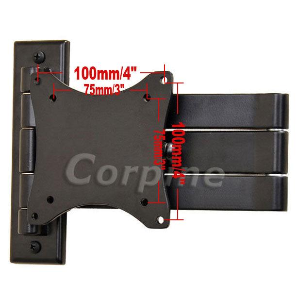 Swivel Tilt Flat Screen LCD LED TV Monitor Wall Mount 15 17 19 20 22 24 27 W67