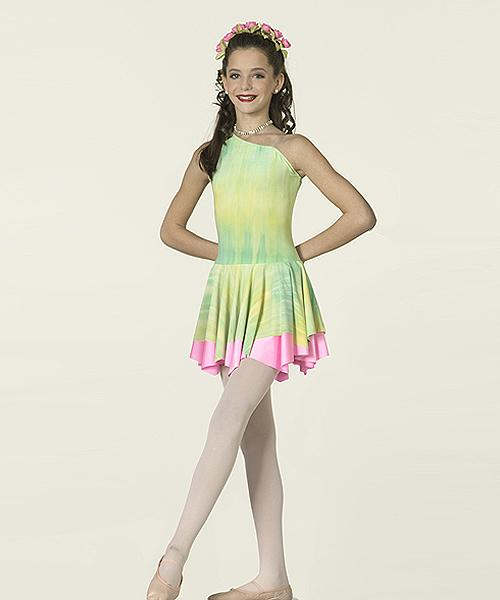 Watercolor Dance Dresses Dress Dance Costume as