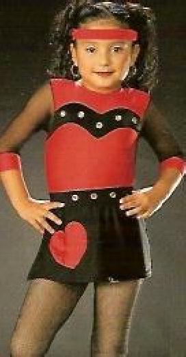 QUEENS-Leotard-Skirt-Jazz-Tap-Dance-Costume-Adult-Large