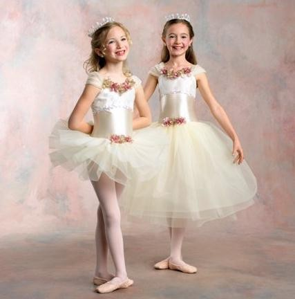 ANGELICA-Ballet-LONG-TUTU-Pageant-Dance-Costume-Fits-Child-2-3yr