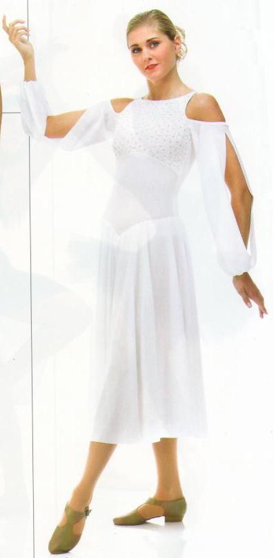 Reverence lyrical christmas dress dance costume choice