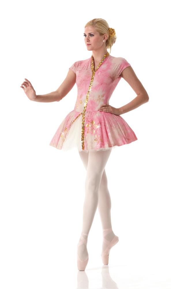 DESTINY Pink Ballet Tutu Ballerina Tap Dress Halloween ...
