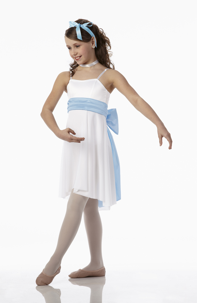 Christmas Lyrical Dance Dress Costume Ballet