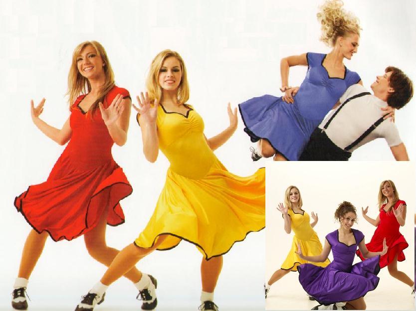 PEGGY-SUE-Swing-Dress-YELLOW-Dance-Costume-Adult-XXL