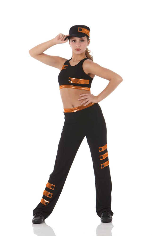 RHYTHM NATION Crop Top u0026 Pants Dancewear Hip Hop Dance Costume Child u0026 Adult Sz   eBay