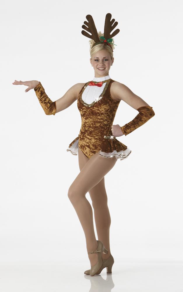 Rockin Reindeer Christmas Dance Costume Pageant