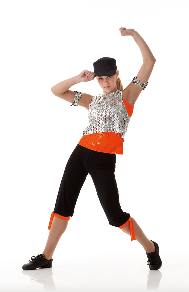 about SUMMER IN THE CITY Hip Hop Rap HALLOWEEN Dance Costume SIZE
