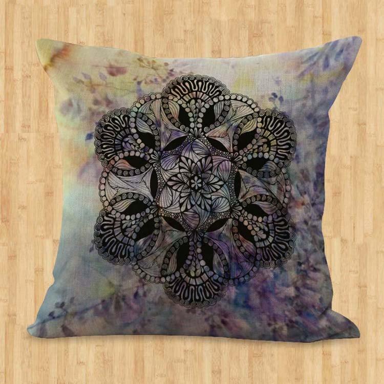 cotton throw pillow lot of 15 wholesale cushion covers spiritual ritual mandala eBay