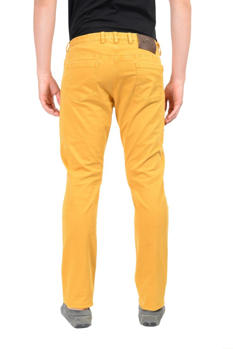 Etro Men's Mustard Yellow Straight Jeans Size US 33 34 36 38   eBay