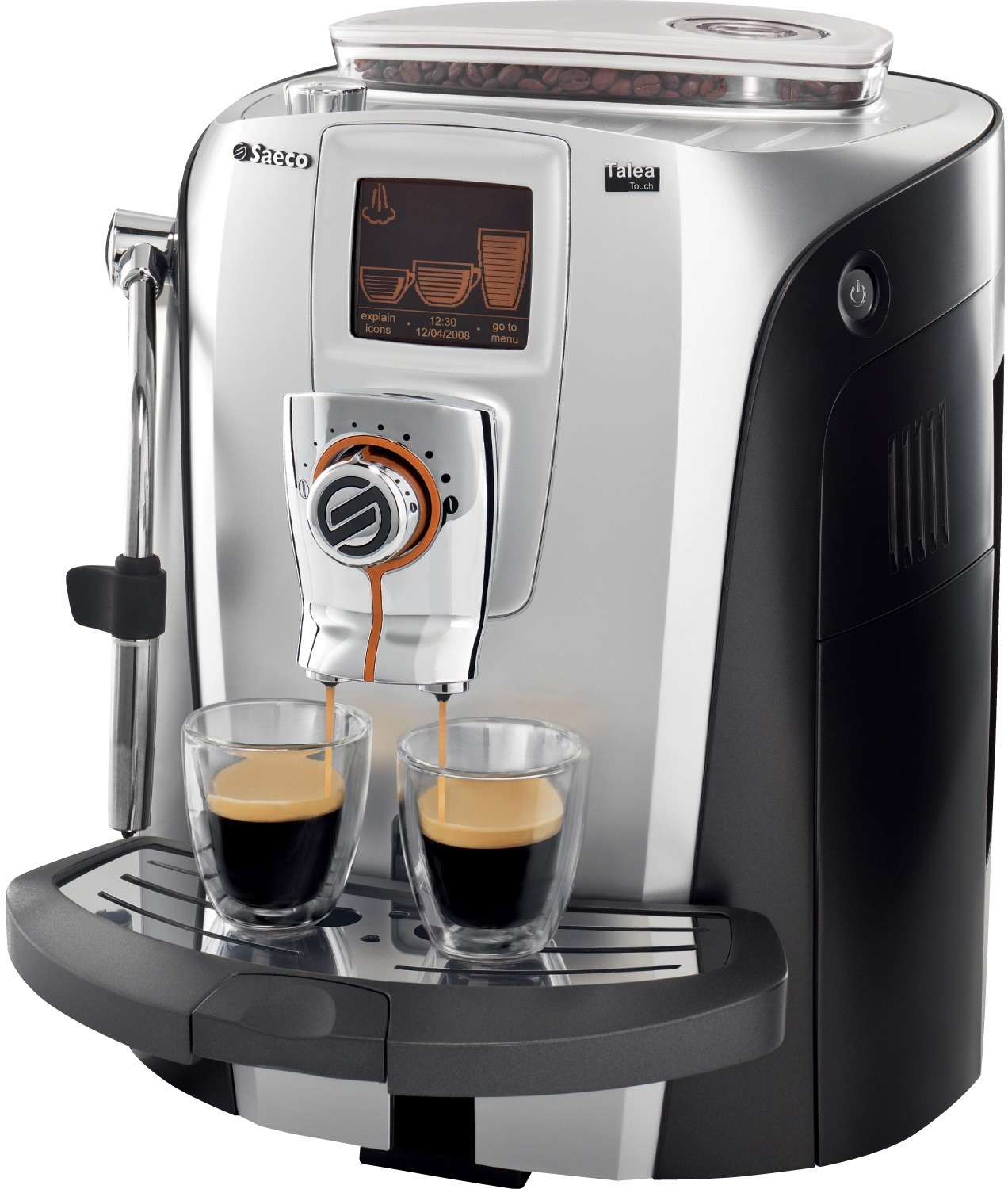 Saeco Coffee Machines ~ Phillips saeco talea touch automatic espresso machine