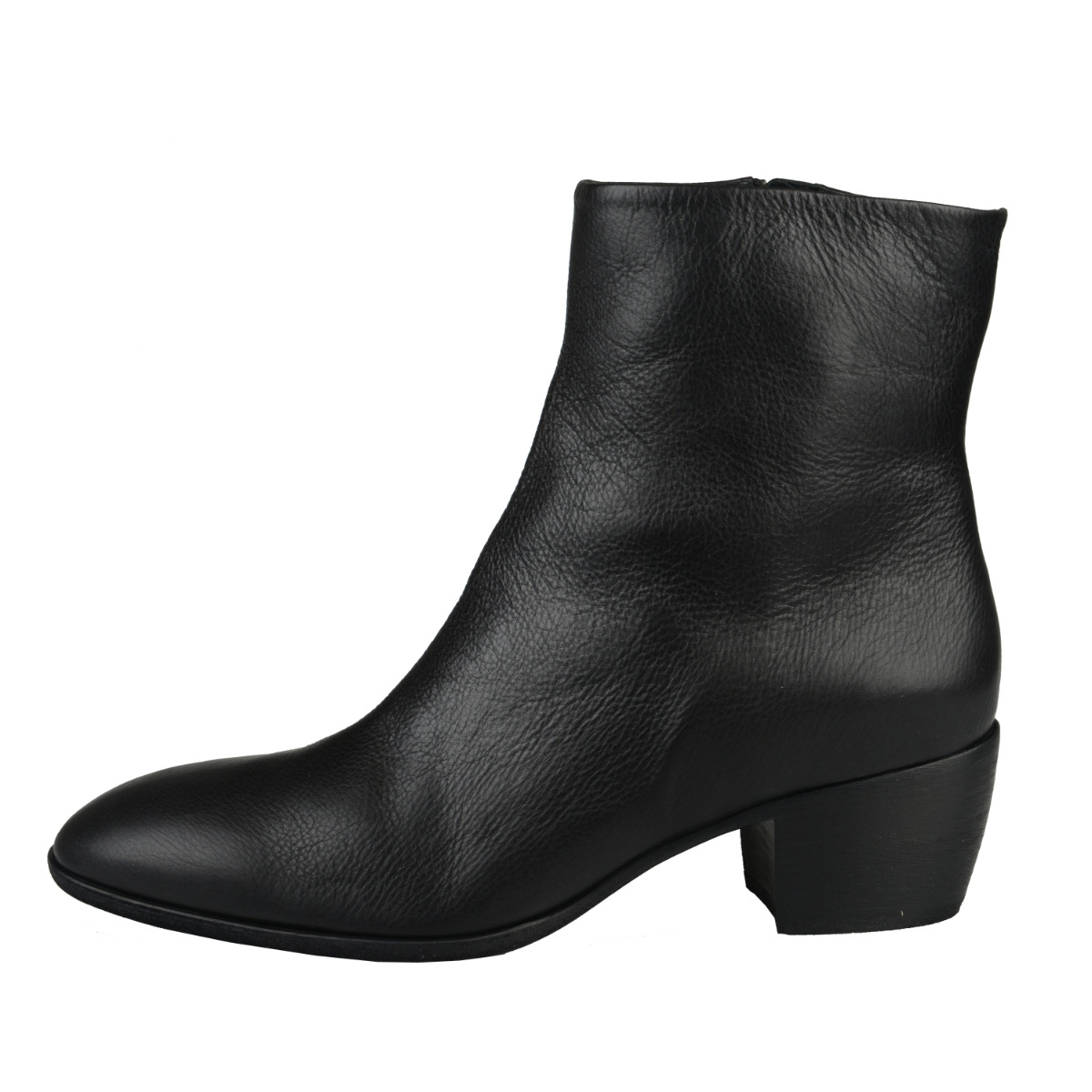 Giuseppe Zanotti Homme Men's Black Leather Ankle Boots Shoes ...