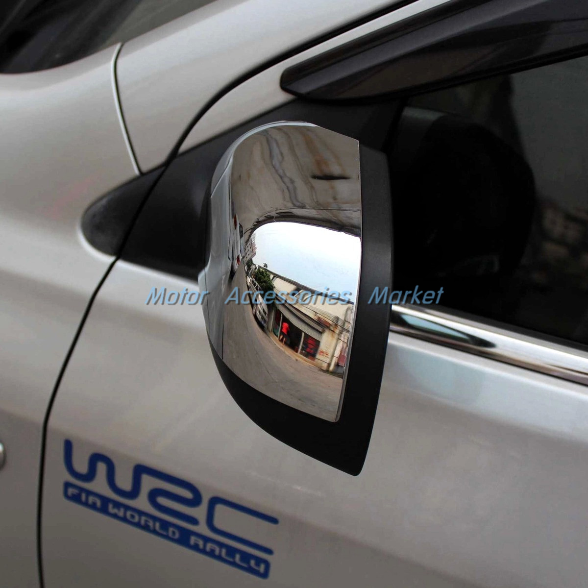 New chrome rearivew mirror cover trim for nissan versa sedan 2012 new chrome rearivew mirror cover trim for nissan versa sedan 2012 2013 2014 vanachro Choice Image