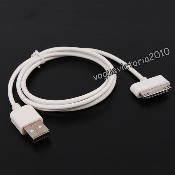 1x-USB-2-0-Data-Sync-Kabel-fuer-iPod-iPhone-3G-3GS-4-4S-bunt-in-11-Farben