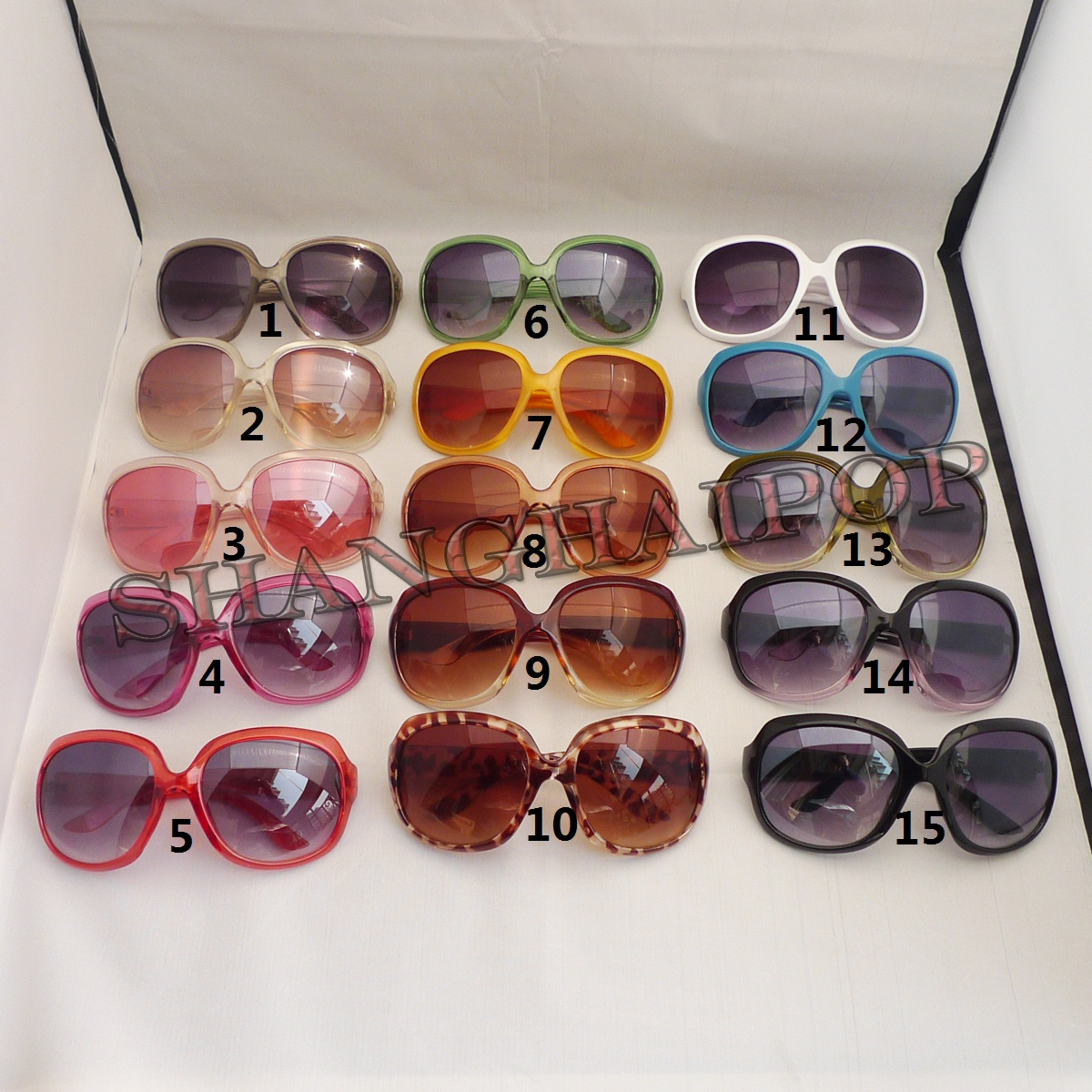 Oversized-Sunglasses-Round-Frame-Sexy-Sunnies-Large-Thick-Lens-Lady-Girl-Leopard