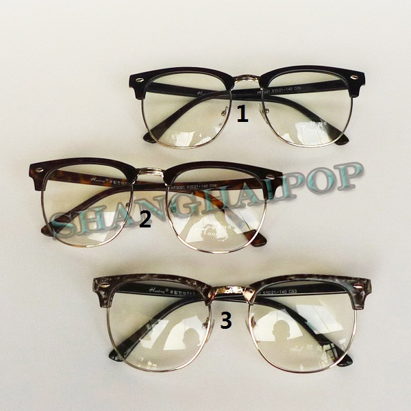 Clear Fashion Glasses For Men Stud Wayfarer Fashion Men