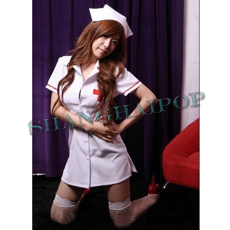 women sexy naughty dark nurse leather costumes adult cosplay uniform