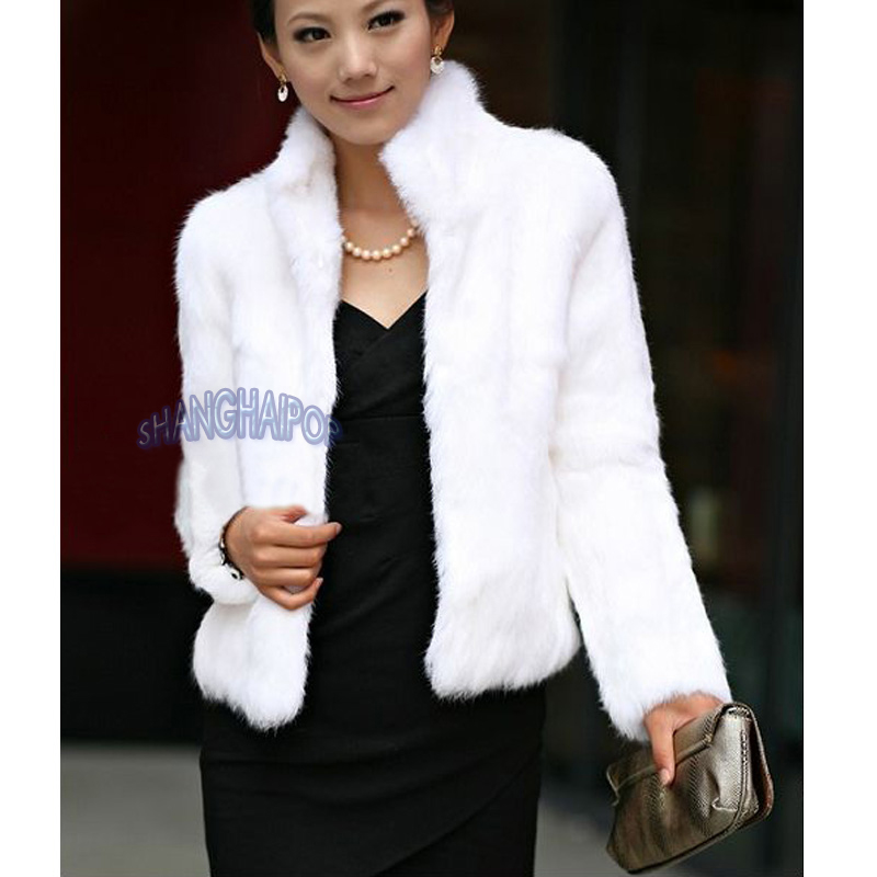 White Fur Coats For Sale | Down Coat