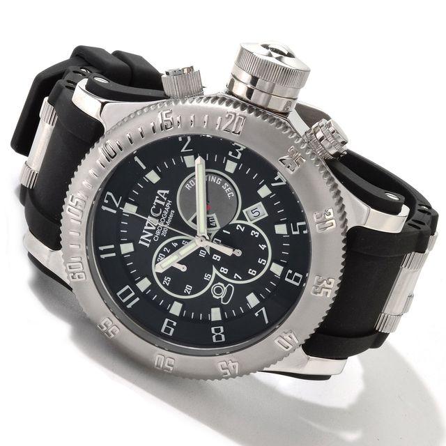 Invicta Mens Russian Diver Chronograph Watch 0803 NEW